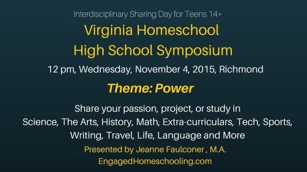 Virginia Homeschool High School symposium, rev